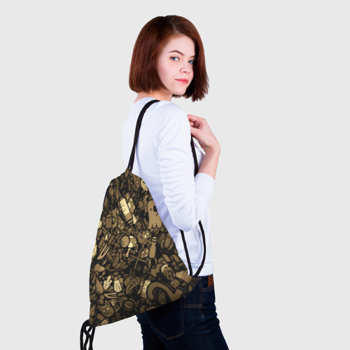 Рюкзак-мешок 3D  Фото 02, Стикеры