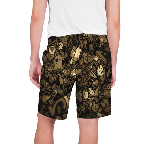 Мужские шорты 3D  Фото 02, Стикеры