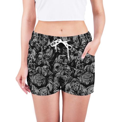 Женские шорты 3D  Фото 03, Zombie rush