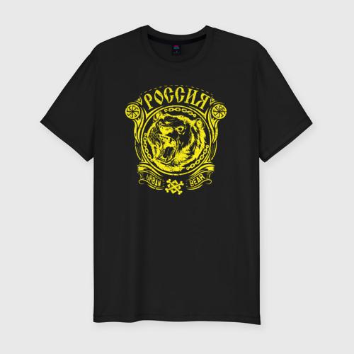 Мужская футболка премиум  Фото 01, Уличный медведь коловрат