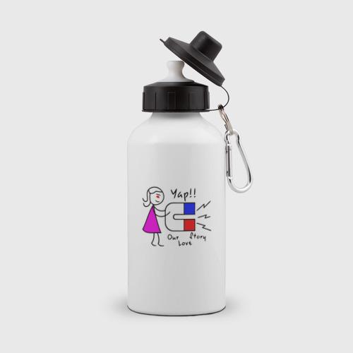 Бутылка спортивная Магнит Ж