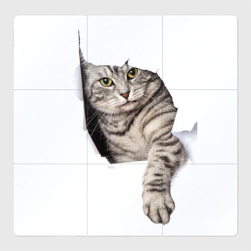 Магнитный плакат 3Х3 Кот прорвался