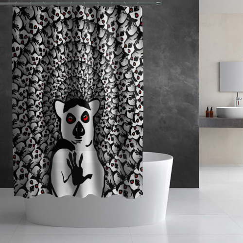 Штора 3D для ванной  Фото 02, Абсолютное збогойствие