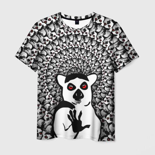 Мужская футболка 3D Абсолютное збогойствие