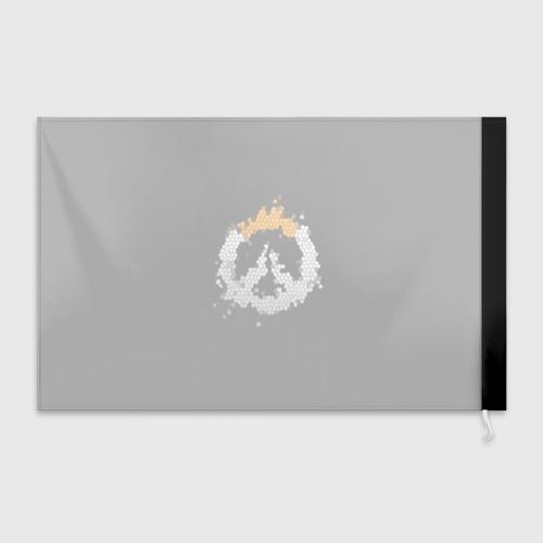 Флаг 3D Overwatch Logo (Краска-Витраж) Фото 01