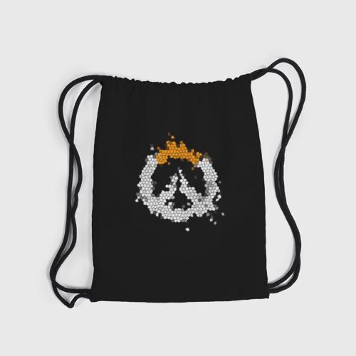 Рюкзак-мешок 3D Overwatch Logo (Краска-Витраж) Фото 01