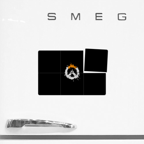 Магнитный плакат 3Х2 Overwatch Logo (Краска-Витраж) Фото 01