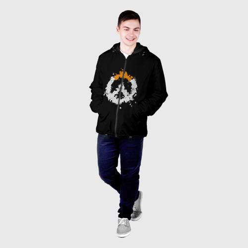 Мужская куртка 3D Overwatch Logo (Краска-Витраж) Фото 01