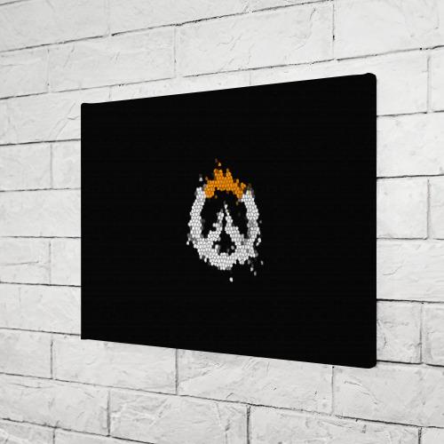 Холст прямоугольный Overwatch Logo (Краска-Витраж) Фото 01