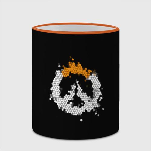 Кружка с полной запечаткой Overwatch Logo (Краска-Витраж) Фото 01