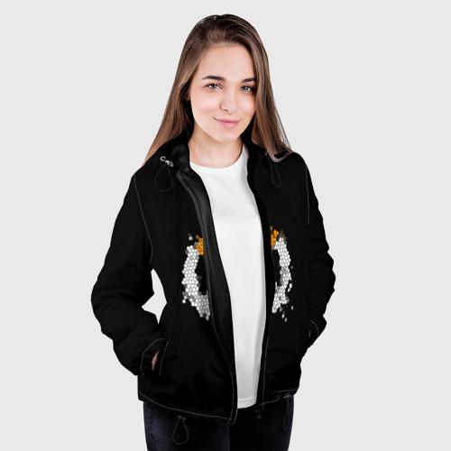 Женская куртка 3D Overwatch Logo (Краска-Витраж) Фото 01