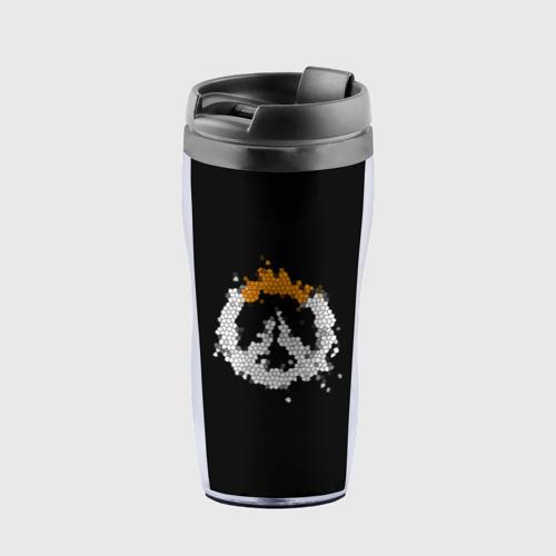 Термокружка-непроливайка Overwatch Logo (Краска-Витраж) Фото 01