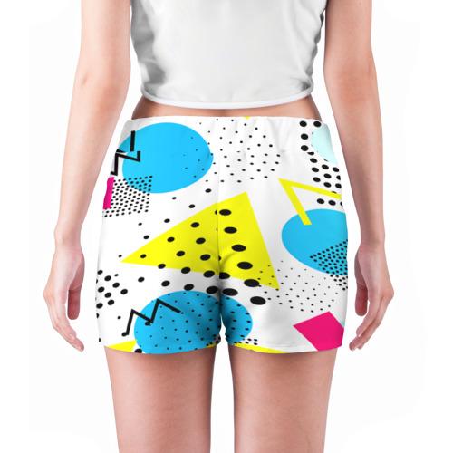 Женские шорты 3D  Фото 04, Стильная геометрия