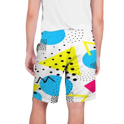 Мужские шорты 3D  Фото 02, Стильная геометрия