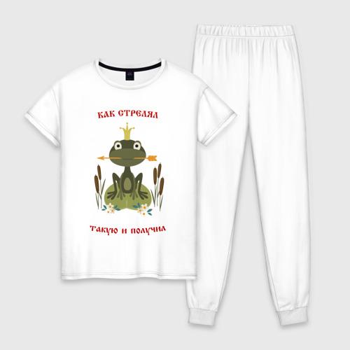 Женская пижама хлопок Хорошо стреляй, хорошую получи Фото 01