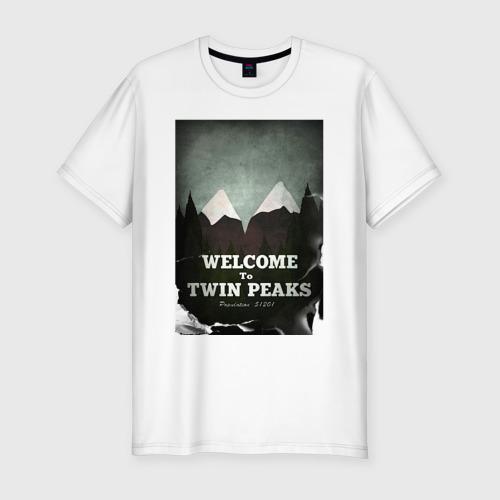 Мужская футболка премиум  Фото 01, Twin Peaks