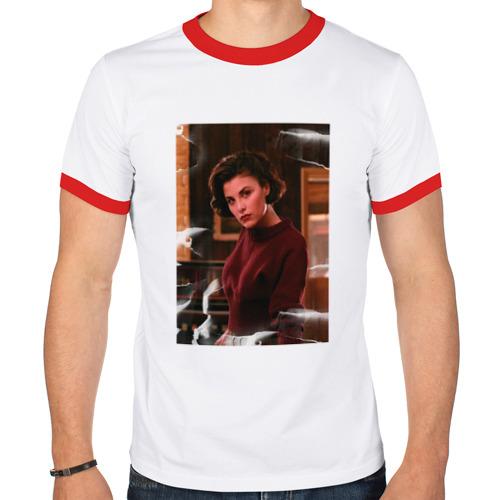 Мужская футболка рингер  Фото 01, Twin Peaks