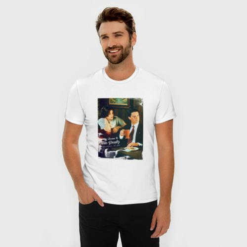 Мужская футболка премиум  Фото 03, Twin Peaks