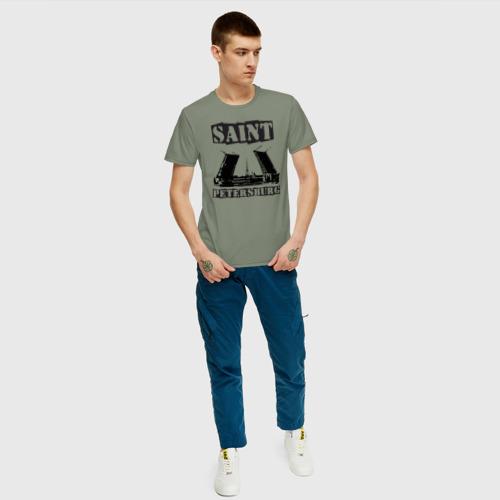 Мужская футболка хлопок Санкт-Петербург Фото 01