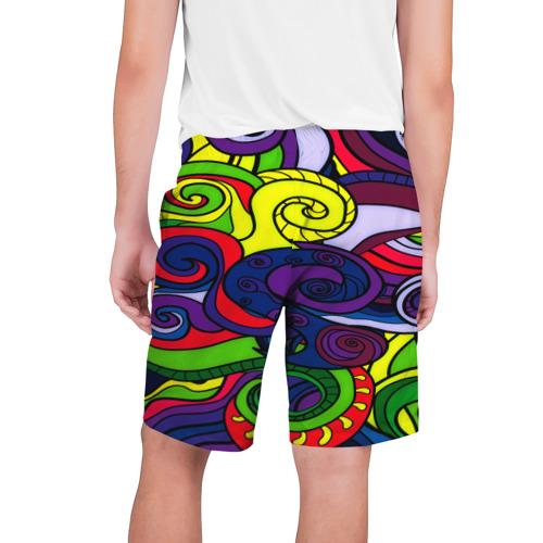 Мужские шорты 3D  Фото 02, Спирали