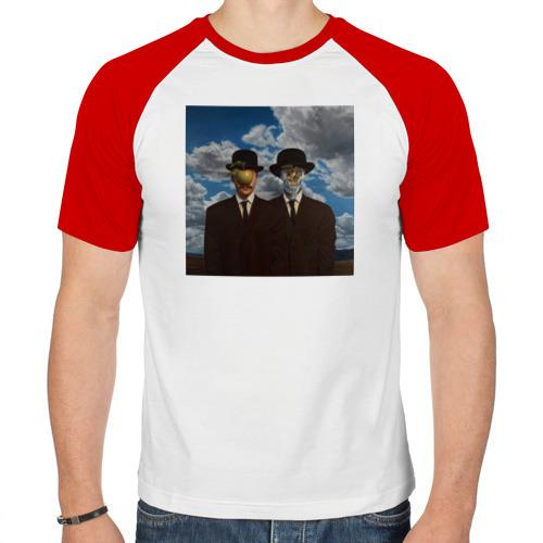 Мужская футболка реглан  Фото 01, Сын человечества