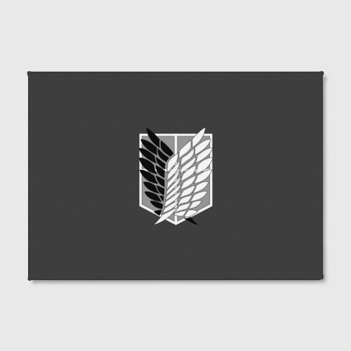Холст прямоугольный  Фото 02, Атака Титанов (эмблема) #1