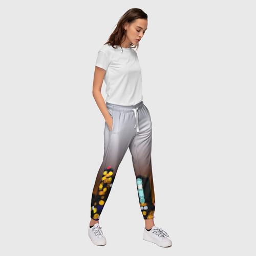 Женские брюки 3D  Фото 03, Городские огни