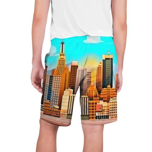 Мужские шорты 3D  Фото 02, Мегаполис
