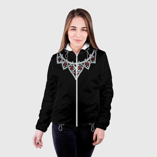 Женская куртка 3D  Фото 03, Ожерелье