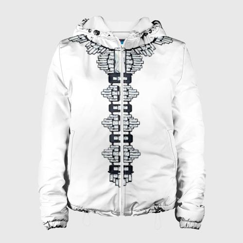 Женская куртка 3D  Фото 01, Украшение
