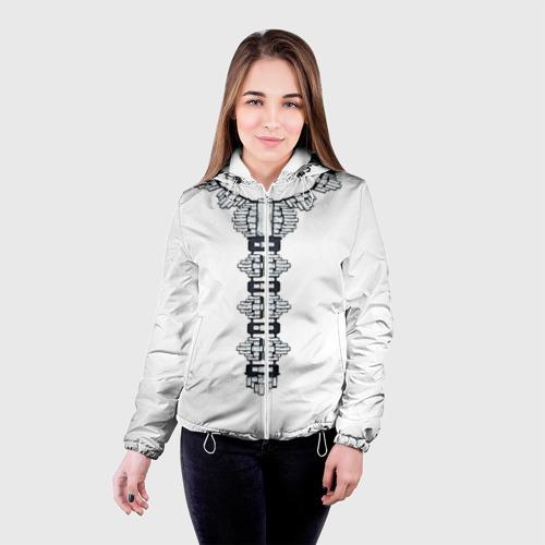 Женская куртка 3D  Фото 03, Украшение