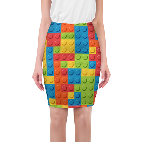 Юбка 3D  Фото 01, Лего