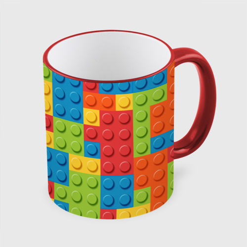 Кружка с полной запечаткой Лего