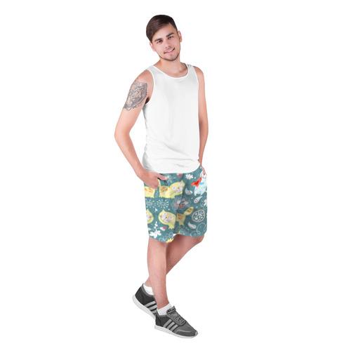 Мужские шорты 3D  Фото 03, Милый узор