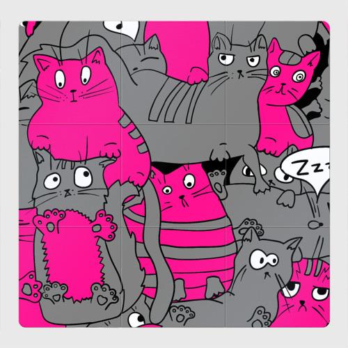 Магнитный плакат 3Х3 Кот2