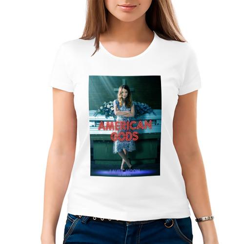 Женская футболка хлопок  Фото 03, Американские Боги 4