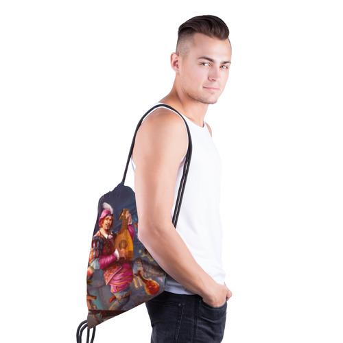 Рюкзак-мешок 3D Лютик Фото 01