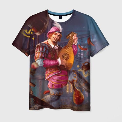 Мужская футболка 3D  Фото 01, Лютик