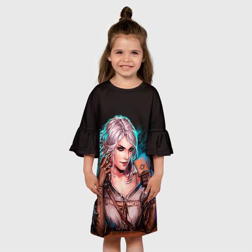 Детское платье 3D Цири 1 Фото 01