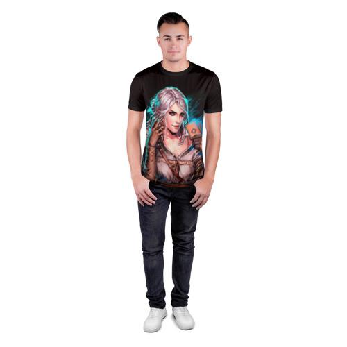 Мужская футболка 3D спортивная  Фото 04, Цири 1
