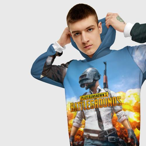 Мужская толстовка 3D Playerunknown`s battlegrounds 1