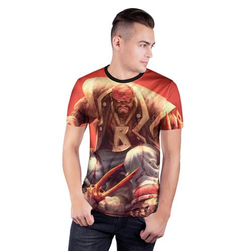 Мужская футболка 3D спортивная Dead island 5 Фото 01