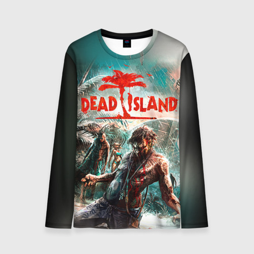 Мужской лонгслив 3D Dead island 8 Фото 01