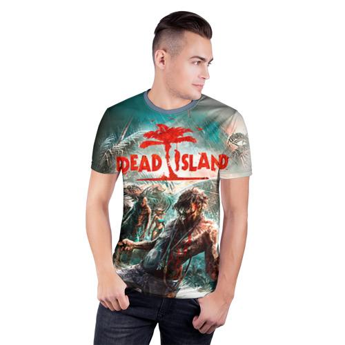 Мужская футболка 3D спортивная Dead island 8 Фото 01