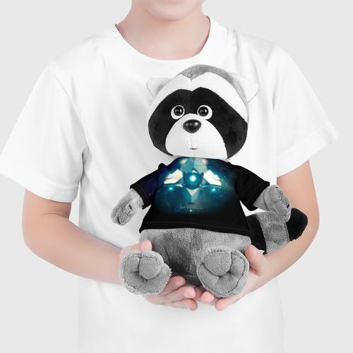 Енотик в футболке 3D Destiny 4 Фото 01