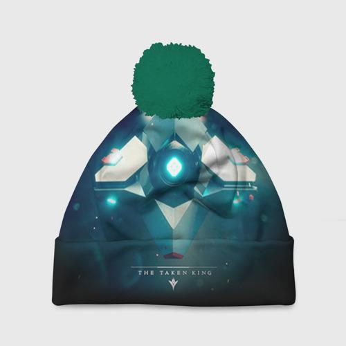 Шапка 3D c помпоном Destiny 4 Фото 01
