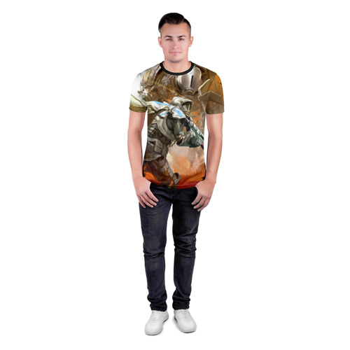Мужская футболка 3D спортивная Destiny 10 Фото 01