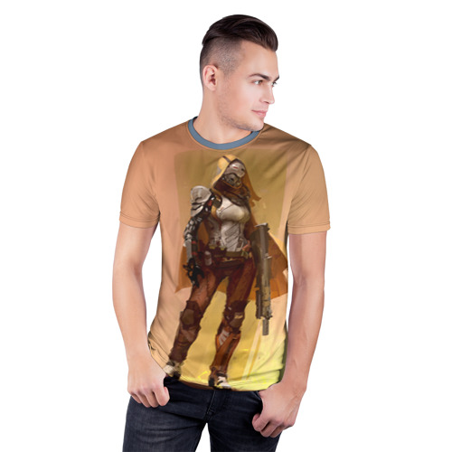 Мужская футболка 3D спортивная Destiny 15 Фото 01