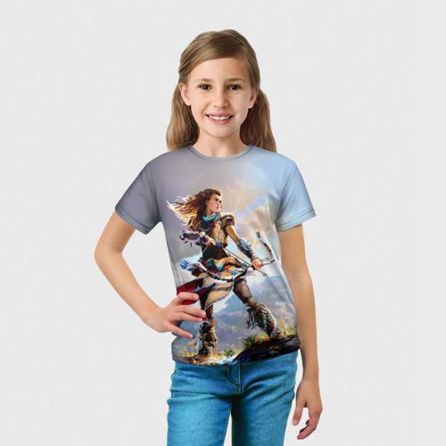 Детская футболка 3D  Фото 03, HZD 4