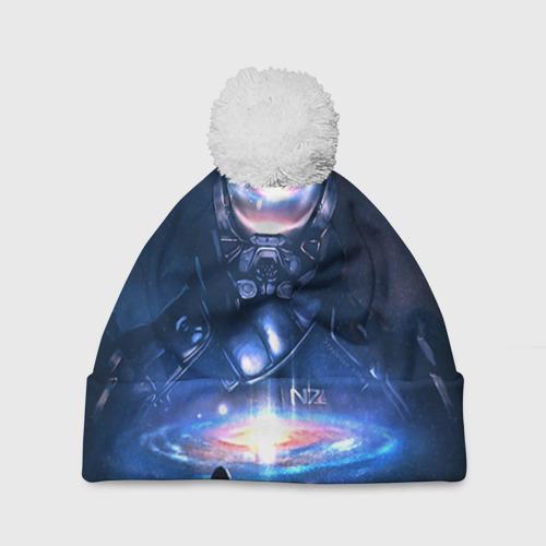 Шапка 3D c помпоном  Фото 01, ME Andromeda 3